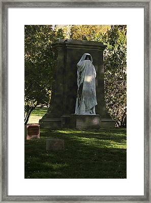Graceland Chicago - The Place Where The Spirits Roam Framed Print by Christine Till