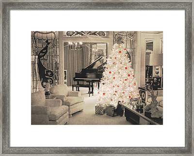 Graceland Holiday Framed Print by JAMART Photography