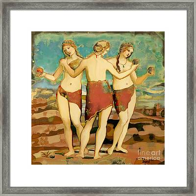 Graces Framed Print