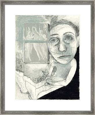 Graces Framed Print by Michelle Flanagan