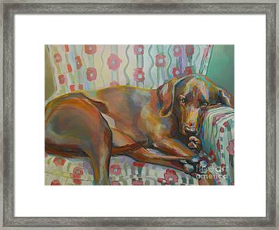 Grace's Throne Framed Print by Kimberly Santini