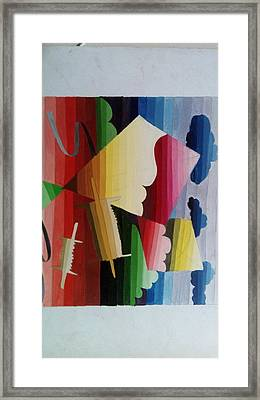 Gradation Framed Print