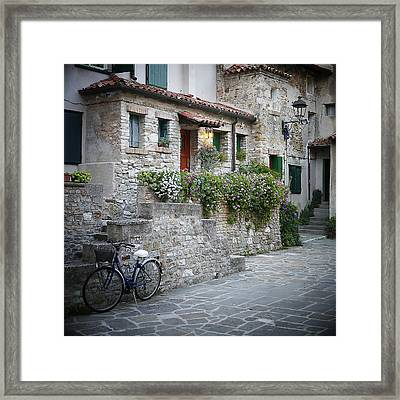Grado Antica Framed Print by Evelyn Tambour