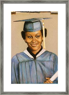 Graduation Framed Print