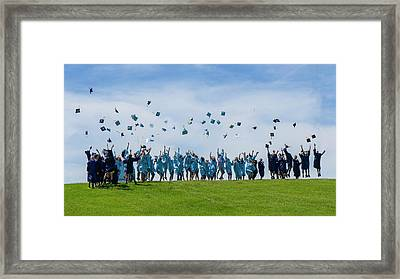 Framed Print featuring the photograph Graduation Day by Alan Toepfer