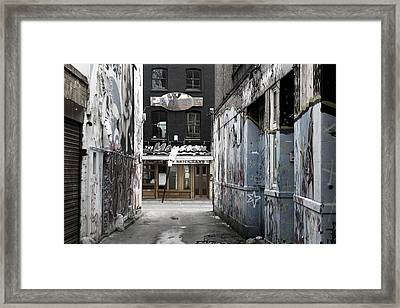 Graff Street Framed Print by Jez C Self