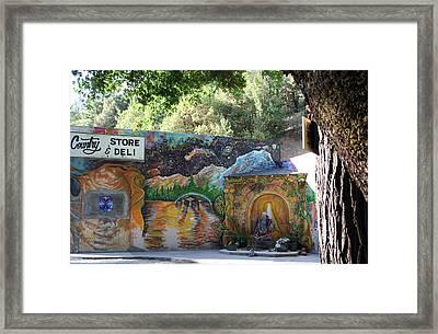 Graffiti 3 Framed Print by Holly Ethan