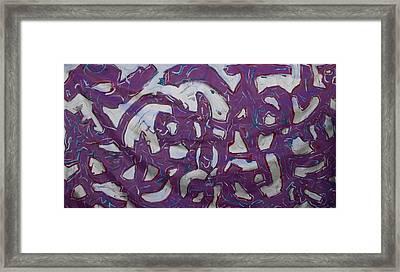 Graffiti Framed Print by Biagio Civale