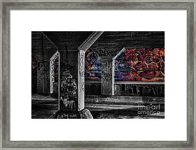 Graffiti Galore 2 Framed Print