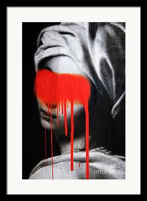 Graffito Framed Prints