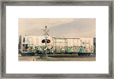 Graffiti Ride Framed Print