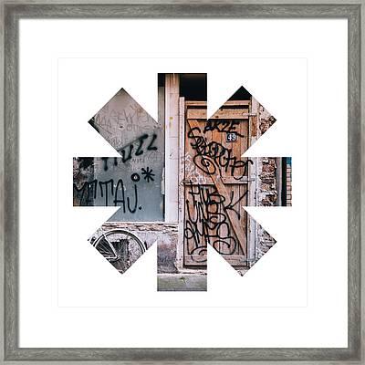 Grafiti Framed Print by Rhcp