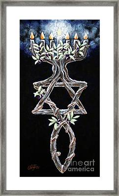Grafted In Framed Print by Cheryl Rose
