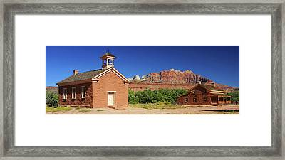 Grafton Ghost Town - Color Framed Print by William Gillam