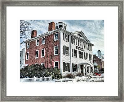 Grafton Inn Framed Print by Bill Dussault