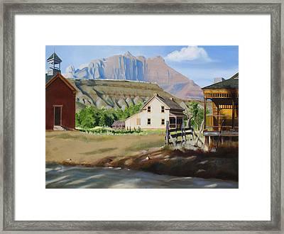 Grafton Framed Print by Lester Nielsen