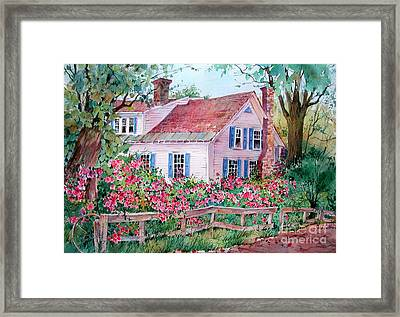 Grafton Village House Framed Print by Sherri Crabtree