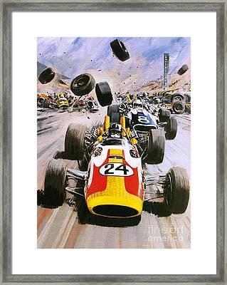 Graham Hill Framed Print by Graham Coton