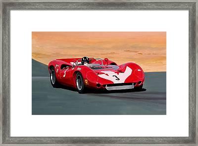 Graham Hill Framed Print