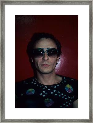 Graham Parker Framed Print by Rich Fuscia