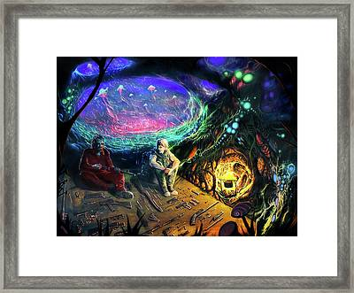 Grail And Reese Framed Print by Will Shanklin