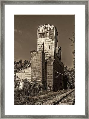 Grain Elevator. Framed Print