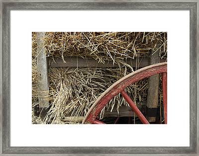 Grain Wagon Framed Print by Robert Ponzoni