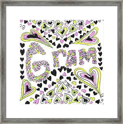 Gram Framed Print