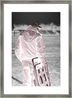 Gramps Framed Print by Helena M Langley