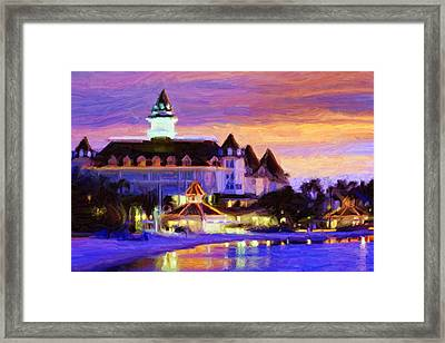 Grand Floridian Framed Print by Caito Junqueira