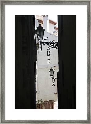 Granada 9 Framed Print by Jez C Self