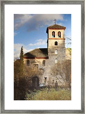 Granada Framed Print by Andre Vicente Goncalves