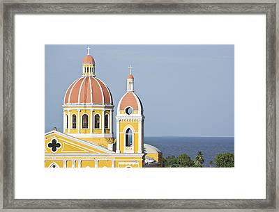 Granada Cathedral Framed Print by Kryssia Campos