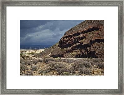 Granadilla De Abona Tenerife Framed Print