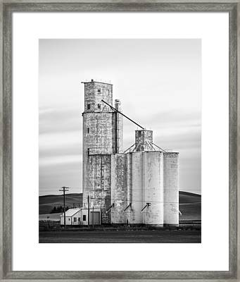 Granary Framed Print by Thorsten Scheuermann