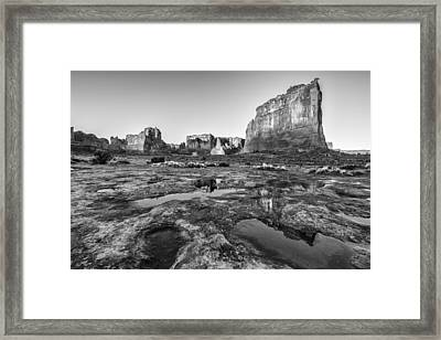 Grand Arches II Framed Print by Jon Glaser