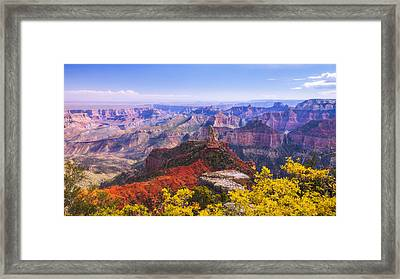 Grand Arizona Framed Print by Chad Dutson
