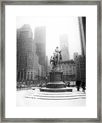 Grand Army Plaza Framed Print by Jessica Jenney