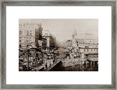 Grand Avenue Framed Print
