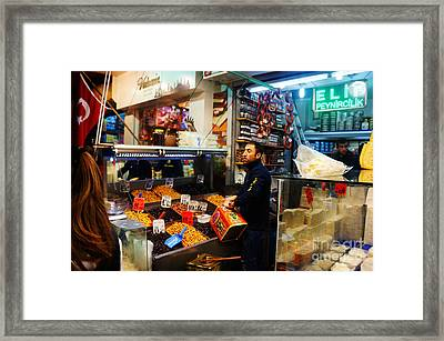Grand Bazaar Framed Print by Celestial Images