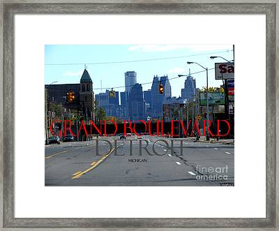 Grand Boulevard Framed Print by Gardening Perfection