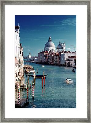 Grand Canal Of Venice Framed Print by Michelle O'Kane
