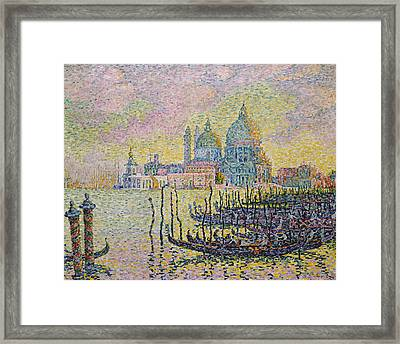 Grand Canal Framed Print by Paul Signac