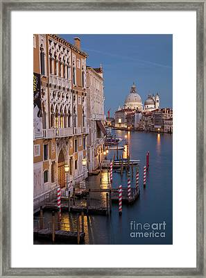 Grand Canal Twilight II Framed Print