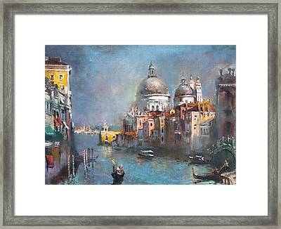 Grand Canal Venice 2 Framed Print by Ylli Haruni