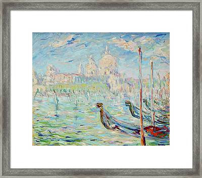 Grand Canal Venice Framed Print by Pierre Van Dijk