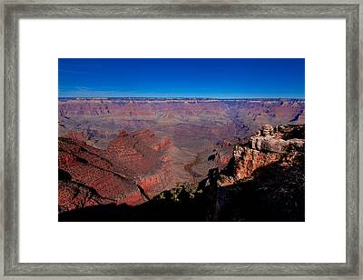 Framed Print featuring the photograph Grand Canyon 1 by Donna Corless