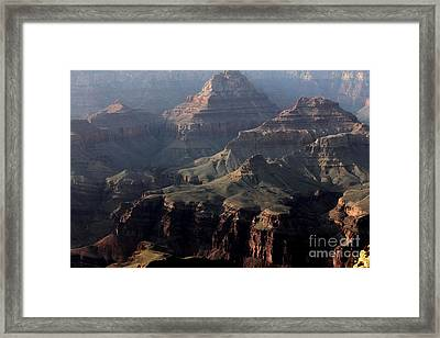 Framed Print featuring the photograph Grand Canyon 1 by Erica Hanel