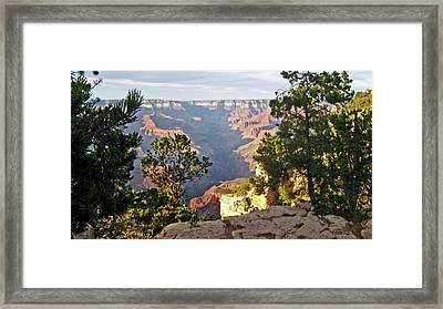 Grand Canyon No. 1 Framed Print by Sandy Taylor