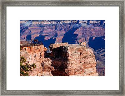Framed Print featuring the photograph Grand Canyon 16 by Donna Corless